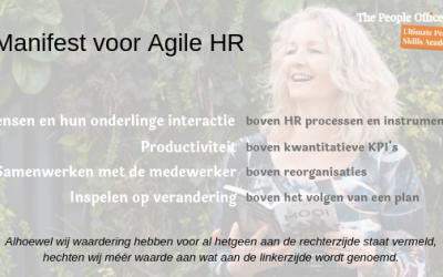 Agile Manifesto voor HRM